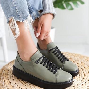 Limoya Ayakkabı Haki